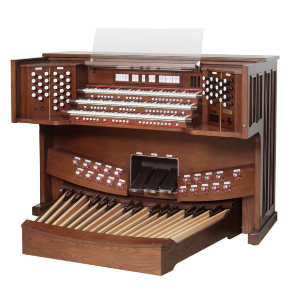 Órgão Rodgers três teclados