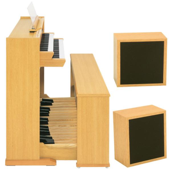 Colunas Amplificadoras para órgão