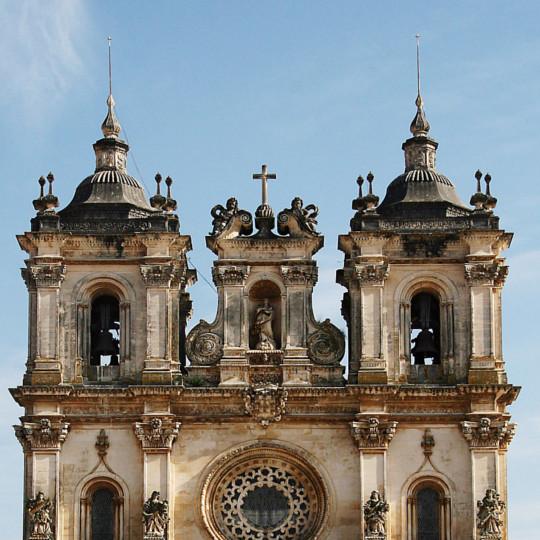 Torres sineiras mosteiro alcobaça