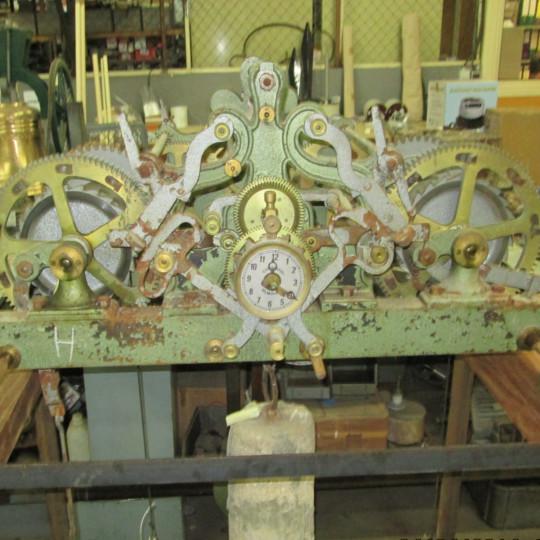 Relógio Mecânico antes do restauro