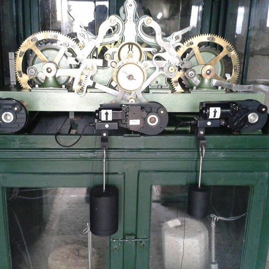 Relógio Mecânico após restauro